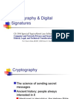 Crypto and Digital Signatures