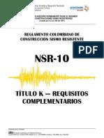 TITULO K-NSR 10
