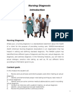 Module 5- Nursing Diagnosis