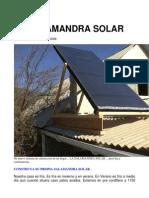Calefacción Solar Por Colectores de Aire !