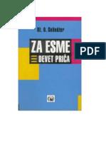 J. D. Salinger - Za Esme
