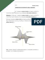 Sesión 7- Extremos de Una Función de Varias Variables