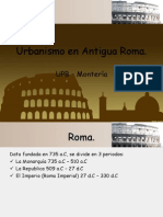 Urbanismo en Antigua Roma