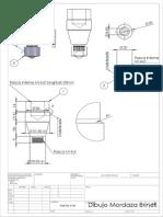 Modelo de Identador Para Pruebas de Dureza Brinell