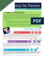 proficiency for parents infographic