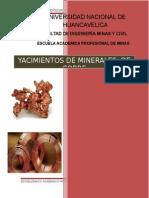 Yacimientos de Cobre en El Perú