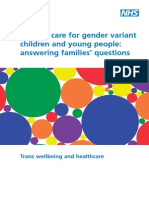 Answering Families' Questions