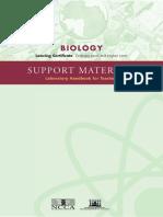 Biology Support