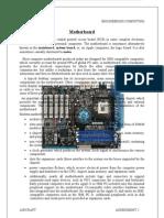 Engineering Computing - Motherboard (Word)