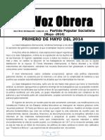 Voz Obrera Mayo de 2014 Correg
