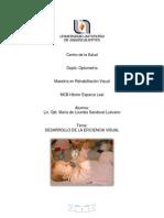 Desarrollo de La Eficiencia Visual-Lourdes Sandoval