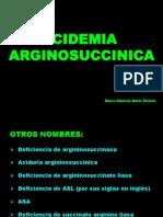 Acidemia Arginosuccínica y Albinismo