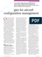 IT strategies for aircraft configuration management