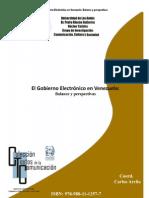 Gobierno Electronico en Venezuela. Balances y Perspectivas