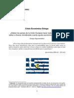 Ensayo Crisis Financiera Griega - Razonamiento Lógico - Diciembre, 2011.docx
