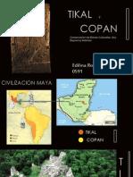 Conservacion Tikal y Copan.