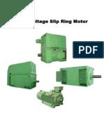 HV Slip Ring Motor