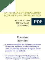 Entrevista vs Interrogacion