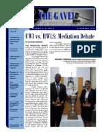 Gavel Issue - December 2011