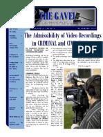 Gavel Issue - December 2012