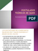 Postulados Teóricos de Marx