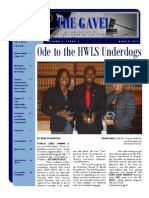 Gavel Issue - March 2012