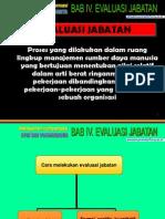 Bab IV. Evaluasi Jabatan