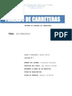 Trazado de Carreteras-Informe Escombreras