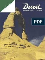 195111 Desert Magazine 1951 November