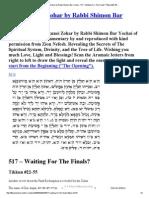 517The Tikkunei Zohar by Rabbi Shimon Bar Yochai - 517 – WaitingFor The Finals_ Tikkun #22-55 ...pdf