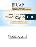 5. Excel 2007 Parte i _2014-2c Ingenieria Civil