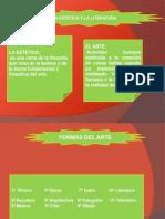 La Estética y La Literatura.