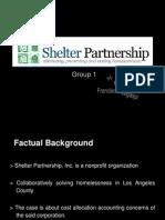 Case 17-3, Powerpoint Presentation SHELTER PARTNERSHIP