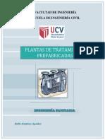 Informe Plantas de Tratamiento