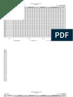 K - 12 Grading Sheet (Blank) Gr I