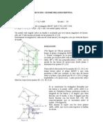 Geometría descriptiva - ejercicios