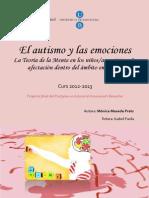 El Autismo y Las Emociones