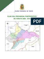 Plan Vial - Tarata