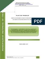Plan de Trabajo 2013
