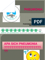 Penyuluhan Pneumonia Puskesmas