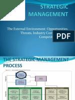 Strategic Management -The Enviroment