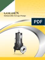 GOLDEN Submersible Sewage Pumps