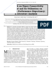 Research on Hyper-Connectivity Element and its Utilization on Consumer Performance Expectancy