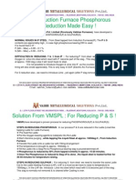 Phosphorous Reduction Made Easy