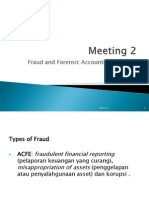 Meeting 2 Fraud