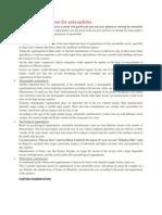 Market Segmentation for Automobiles
