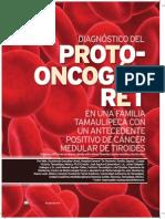 Articulo - Diagnóstico Del Protooncogén Ret en Una Familia Tamaulipeca Con Un Antecedente Positivo de Cáncer Medular de Tiroides