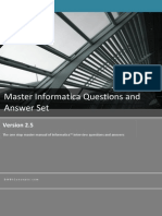 Informatica Question & Answer Set