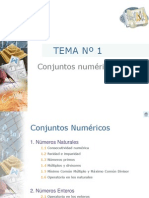 Conjuntos numéticos