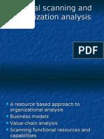 (4) Internal Scanning, Organizational Analysis